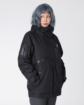FIELD JACKET _ BLACK