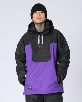 MURCURY ANORAK _ PURPLE